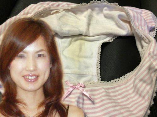 セレブ人妻のヤバすぎる汚れクロッチ画像