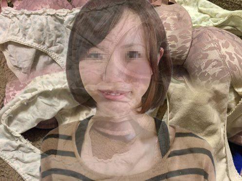 オシャレ下着の女子シミパン画像