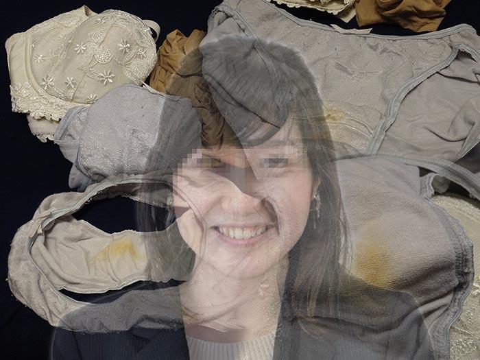 キャリア女上司のシミパン画像