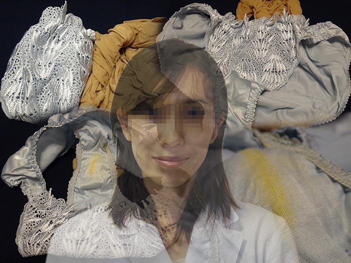 薬剤師のシミパン画像