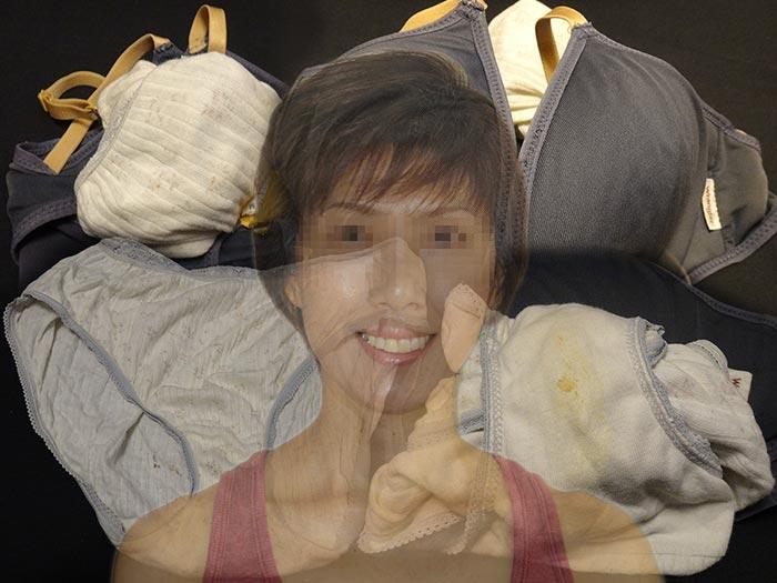 妻友のシミパン画像