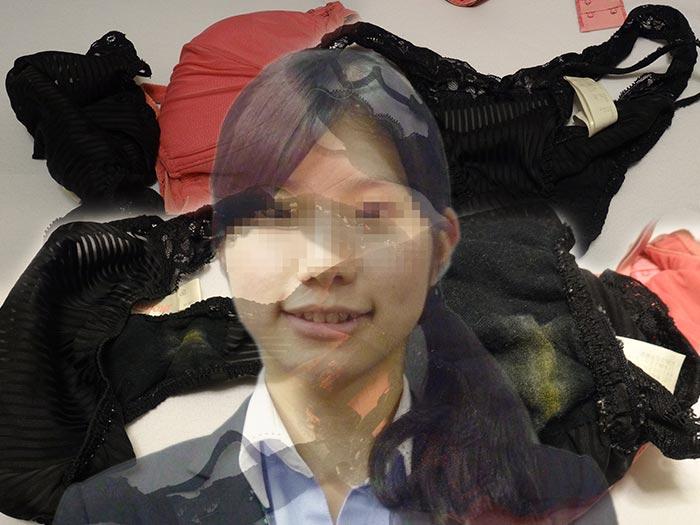 友カノの膿系パンティ汚れの画像