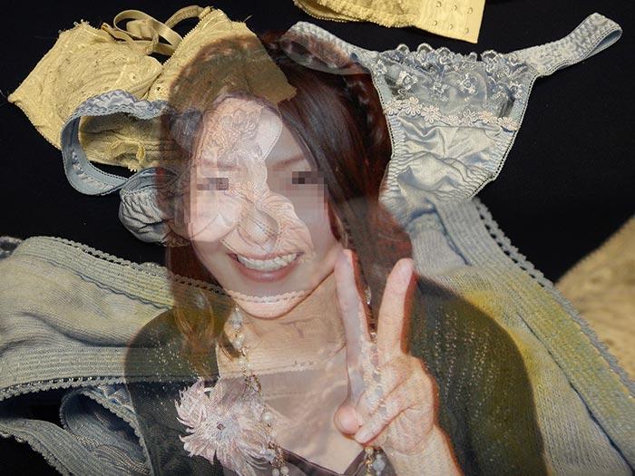 友達のお姉さん、歯科助手で汚いシミパン着用画像