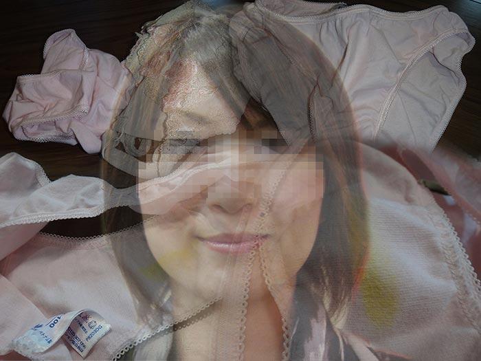 友達の奥さんのこってりマン汁付きクロッチ画像
