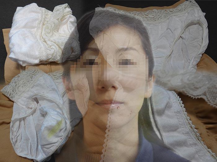 妻の友達のパンティ嗅ぎ舐め画像
