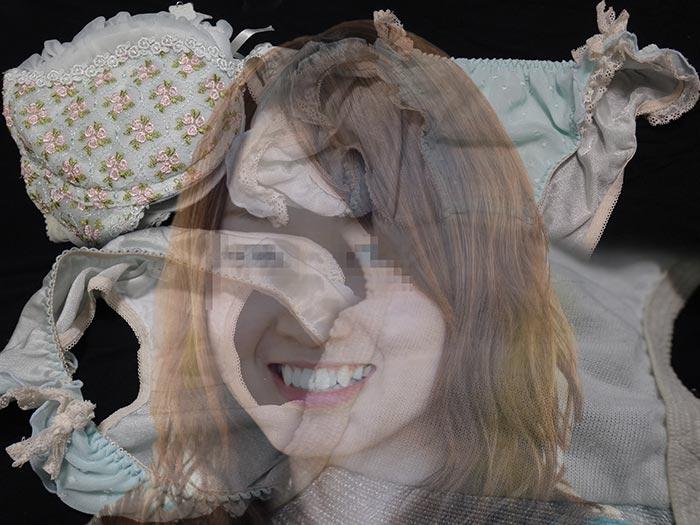 同棲中の友カノの汚れ下着画像