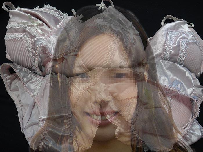 友達と同棲する彼女のパンティ画像