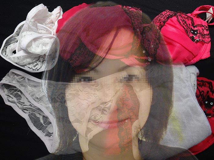 プライドの高い女の汚パンティ画像