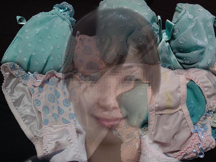 同僚OLの汚れたパンティ画像