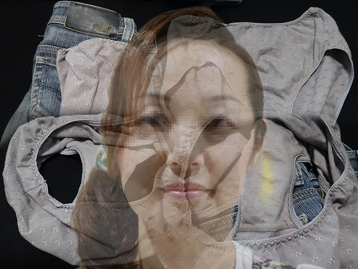 保母さんの汚れ下着画像