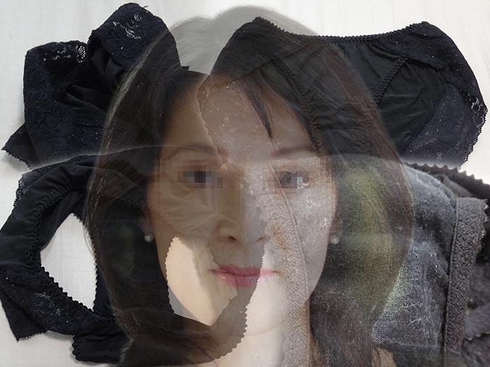 熟女ピアニストのパンティ汚れ画像