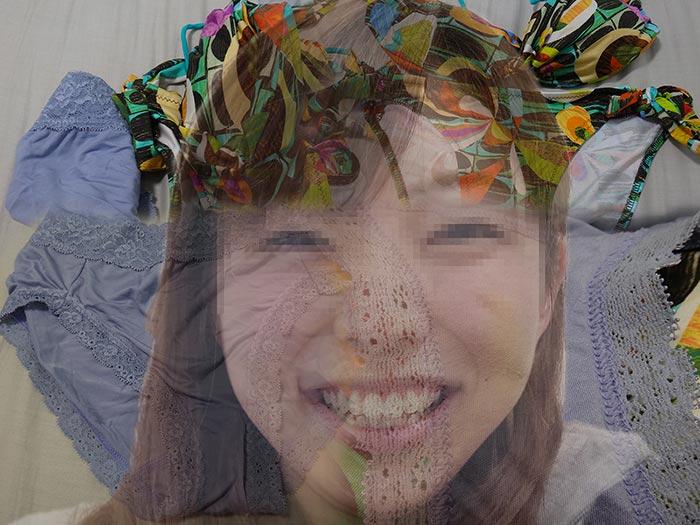 友達の彼女のマンカス下着画像