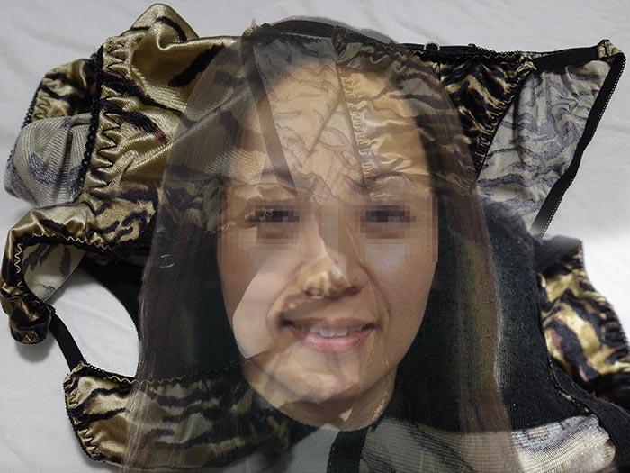 上司の奥さんの汚れクロッチ画像