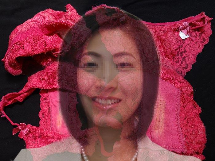 人妻の汚れクロッチ画像
